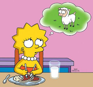 The Simpsons vegetarian Russell Brand to join other celebrities on the simpsons
