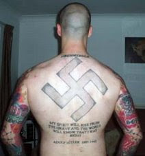 nazi BNP supporter Mick Holmes