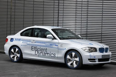 New All-Electric BMW 1-Series Coupe Revealed (details and photos)