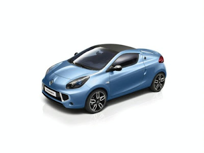 Renault Wind Coupe Convertible CC 2010 Breaks Cover
