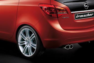 New Irmscher Opel Meriva 2010 2011New Irmscher Opel Meriva 2010 2011