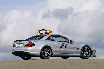Safety Car 2009 F1  Race : SL 63 AMG 2009