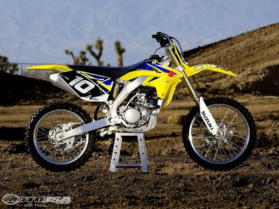 2009 2010 Suzuki RM-Z250F Shootout