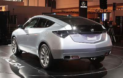 New Acura ZDX Concept 2010