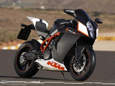 2009 KTM 1190 RC8 First Ride