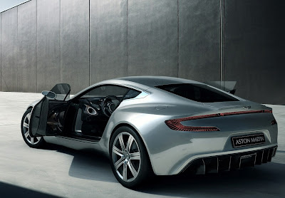 Aston Martin One-77 2010 Ghost Ilustration