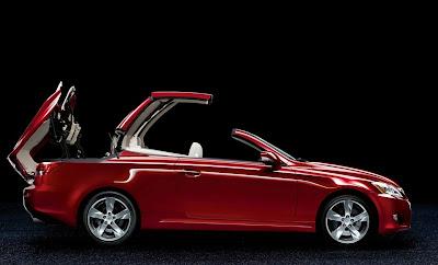 Lexus IS 250 2009 2010 Convertible Revealed in Paris