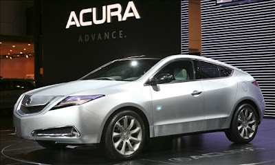 2010 Model Year Preview : Acura ZDX