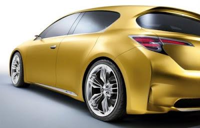 Lexus 2010 teases premium compact concept for Frankfurt