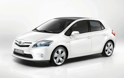 Toyota Auris HSD Full Hybrid Concept 2010 - Set for Frankfurt World Premiere