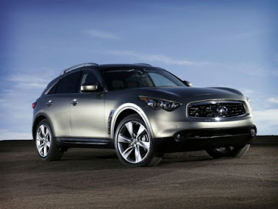 Infiniti FX50 2010 takes a bow at Geneva