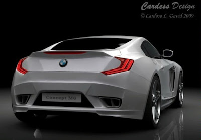 BMW M6 Concept 2010 2011