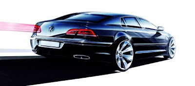 2010 2011 Volkswagen Phaeton restyled: new official images