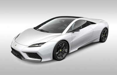 2011 Lotus Esprit is the only model in the development of the five presented in Paris