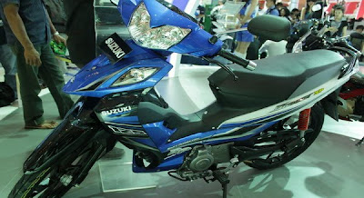 Suzuki 2011 New Shogun,Change Name With Axelo ?