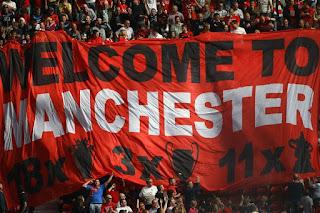 Stretford End Banner