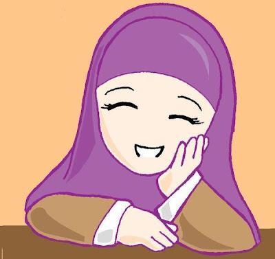 Gambar Kartun Comel Islam