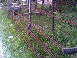 kerangka rumah on Besi konkrit ini digunakan dalam pembinaan tapak dan kerangka rumah ...