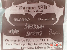 Paraná XIV Metal Festival - 23/02/01