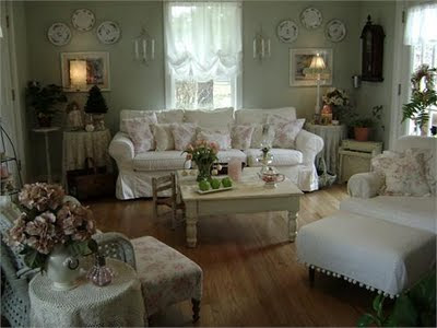 Living Room Inspiration on Keep Colors Muted  A Lot Of White Or Cream With Pastels  Combine