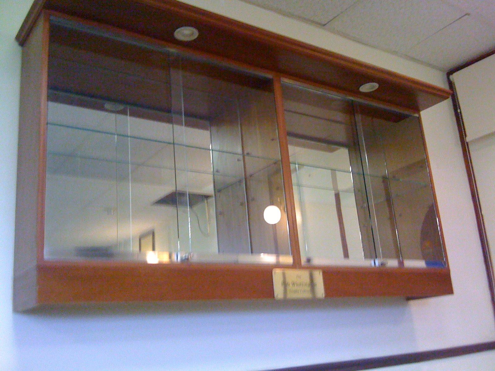 The Keynsham Town Non Trophy Cabinet