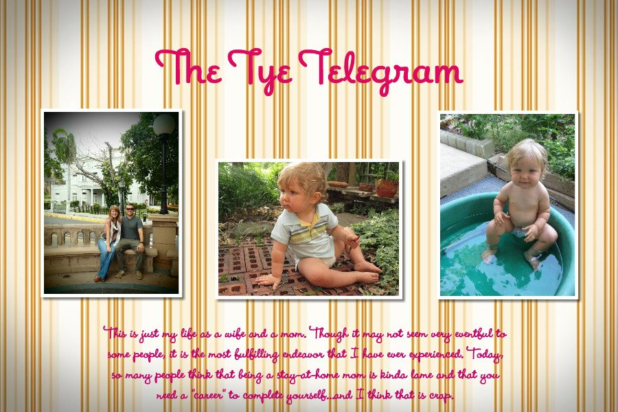 The Tye Telgram