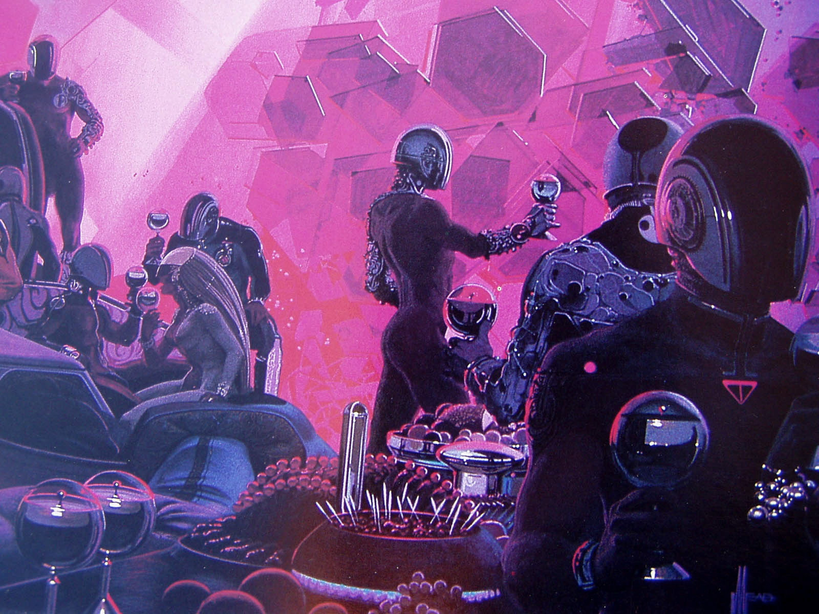 Inspiring and creative people syd mead a real start - I love 80s wallpaper ...