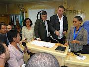 Com a Senadora Marina Silva