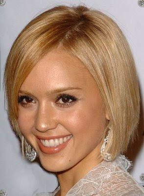 Jessica Alba short hairstyle