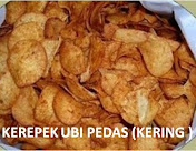 KEREPEK UBI PEDAS ( KERING )