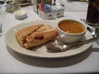 Click to enlarge - Half and half combo with Spanish bean soup
