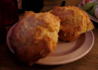 Click to enlarge – Side order of corn muffins.