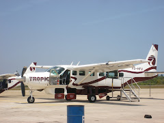 Plane from Belize City to San Pedro