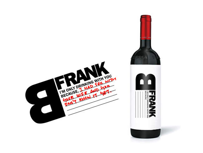 bfrank wine lsn Wine Design: Beautiful and Inspiring Wine Bottle Designs