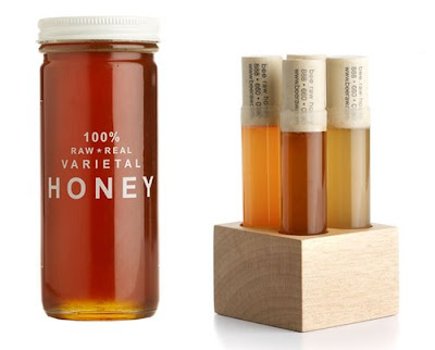 Bee Raw Honey On Packaging Of The World Creative Package