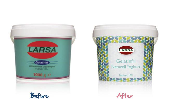 Larsa Natural Yogurt