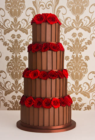 wedding cakes chocolate
