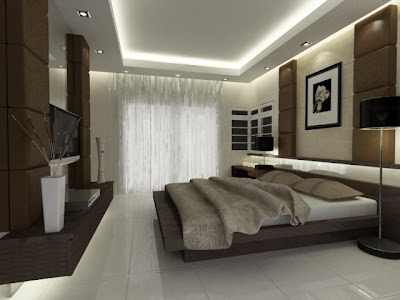 Creative modern bedroom decorating interior design ideas for Creative master bedroom ideas