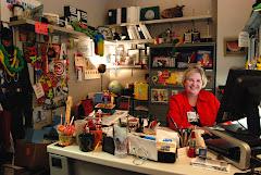 Gail at work