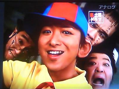 Ohno Satoshi gana como mejor actor!!! Kaibutsu-kun+cm+001