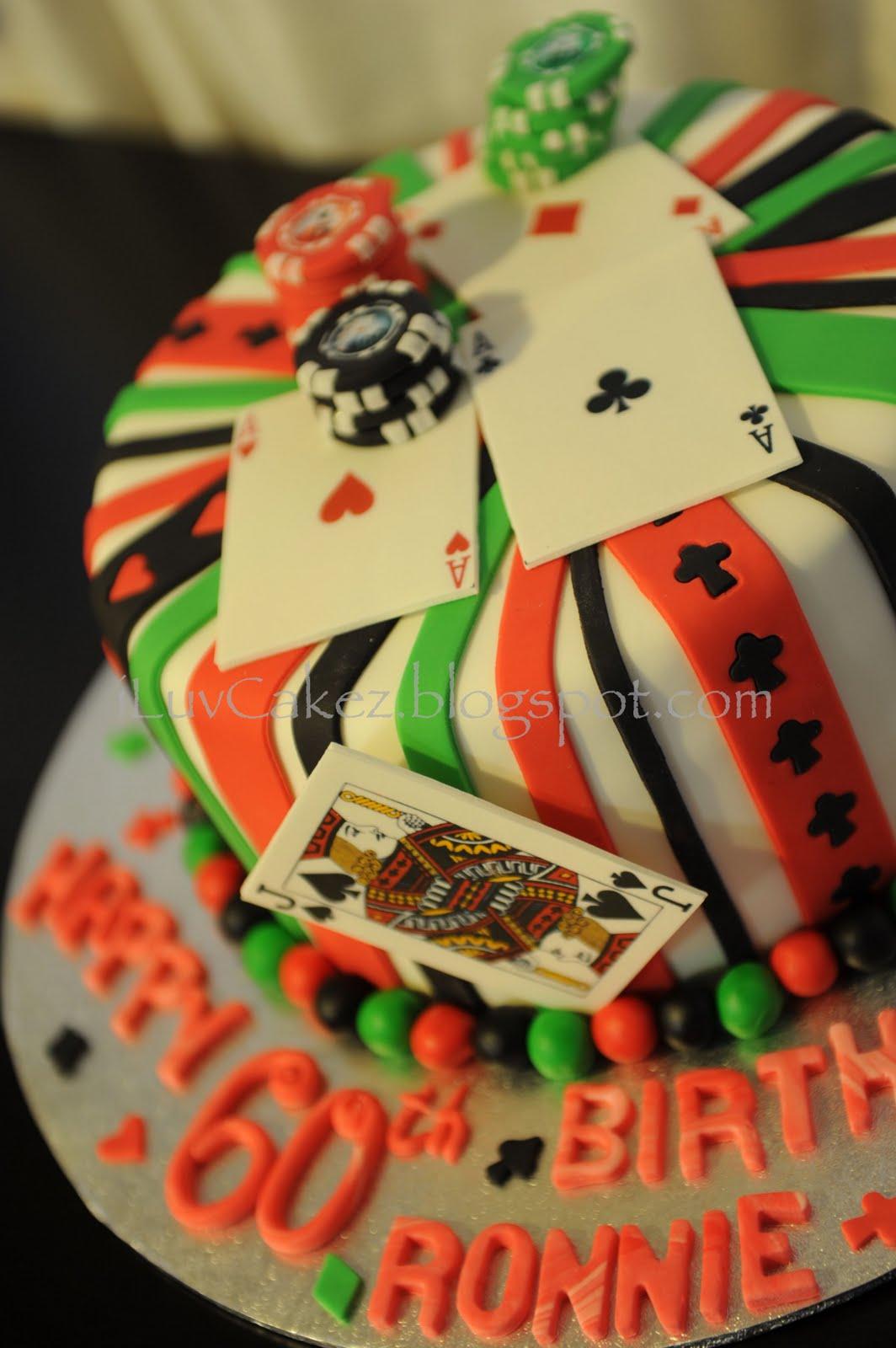 iLuv Cakez: Poker Cake (Ronnie s 60th Birthday)
