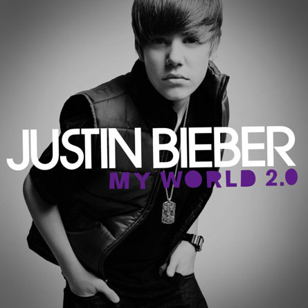 Justin Bieber Movie Cover. Justin Bieber - My World 2.0