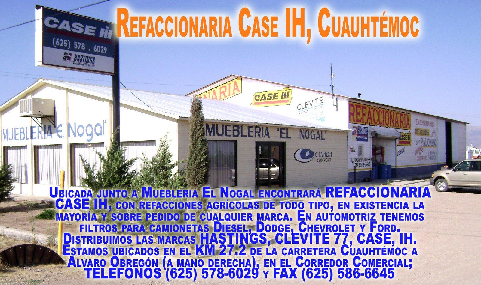 Refaccionaria Case IH, Cuauhtémoc