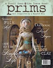 PRIMS, The Art of Primitive Dolls, Spring 2010