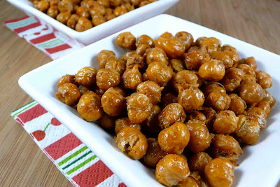 Spicy Roasted Chickpeas with Rosemary & Brown Sugar Recipe ...