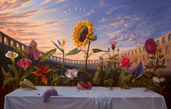 Vladimir Kush: russischer surrealistischer Maler und Bildhauer.  Vladimir+kush+the+last+supper