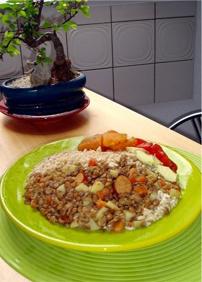 Nada mejor que un plato de lentejas. Quién dijo que la cocina vegana es aburrida?