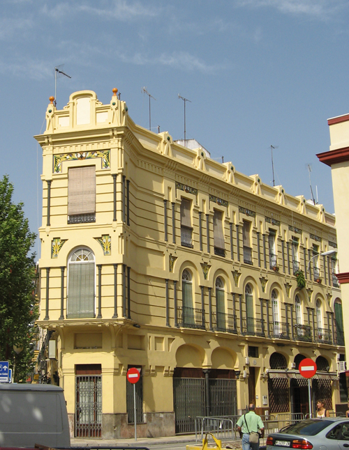 Sevilla siglo xx modernismo sevillano - Nouveau sevilla ...