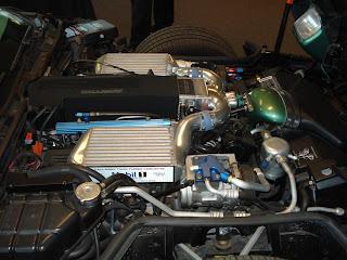 Callaway Speedster Corvette Motor