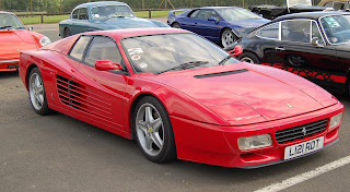 Ferrari Testarossa 512 TR Rojo